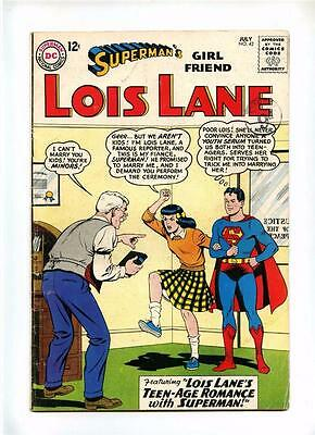 Superman's Girl Friend Lois Lane #42- DC 1963 - FN- - Lois Lane Swimsuit Issue