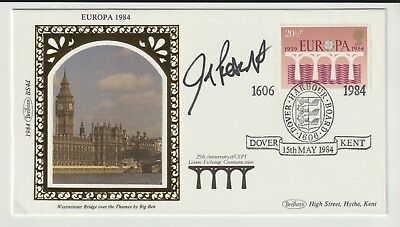 Politics Cover Signed Member Of Parliament John Prescott From Collection