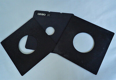 Cambo SC Lens Board plus two others boards
