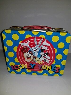 1998 Warner Bros Looney Tunes Collectible Lunchbox