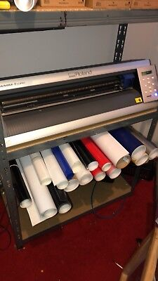 ROLAND GX-24 Vinyl Cutter Ideal for T-Shirts Sign Making and Vehicle Signage
