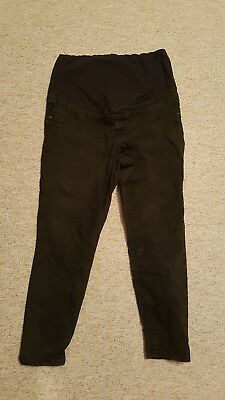 Black Maternity Jeggings Jeans New Look Size 14 Over the Bump