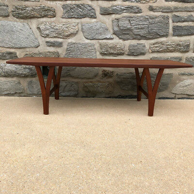 Danish Coffee Table in the manner of Kurt Ostervig Mid Century Modern