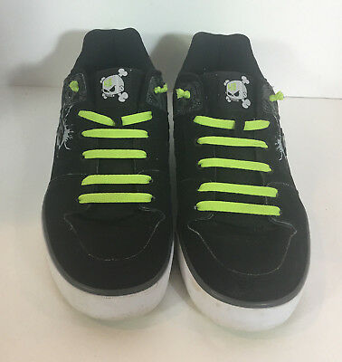 new style a0d70 4f4f9 ... DC Ken Block Edition 43 Mens Skateboard Shoes Size 13 Black Green White.