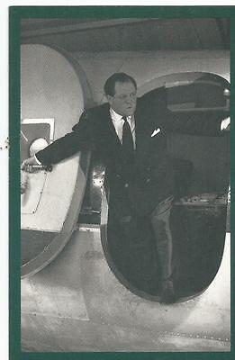 Reproduction Nostalgia Collector's Club Card, Richard Dimbleby 1953, Broadcaster