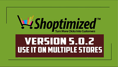 Shoptimized Shopify Theme Version 5.0.2 + License For Unlimited Number Of Stores