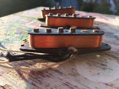 2000' Fender Custom Shop Relic '58 Stratocaster Pickup set