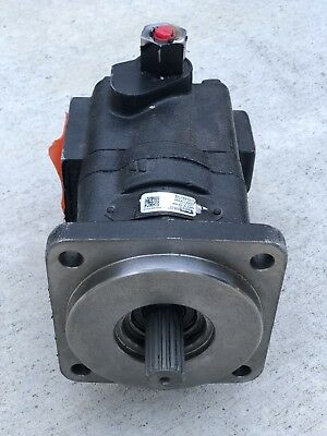 New Genuine Parker 3249110445 Hydraulic Gear Pump Case New Holland Cnh 87434672