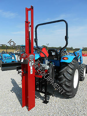 POST DRIVER, POST POUNDER,SHAVER HD12: 100,000lbs Force,Tractor 3-Point,Hyd Tilt