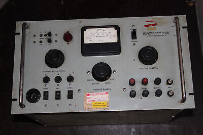 Variable High Voltage Test Power Supply 240VAC to Bias HT & filiament supplies