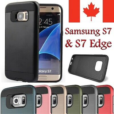 For Samsung Galaxy S7 Case - Protective Hybrid Shockproof Armor Hard Cover