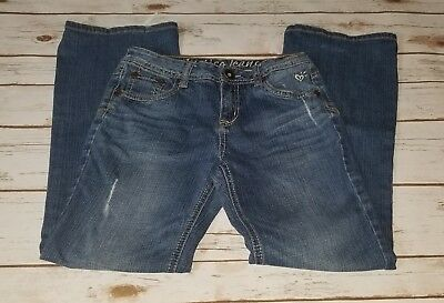 EUC Girls Justice Simply Low Jeans Size 12 #431
