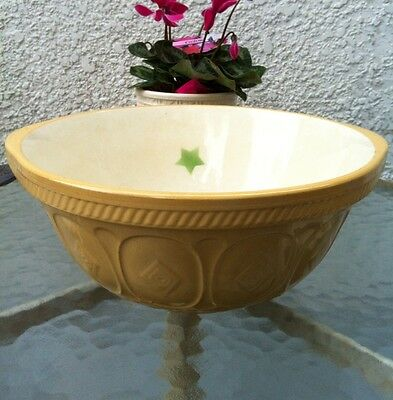 Vintage Easimix Bowl Green Star T. G. Green & Company Church Gresley Extra Large
