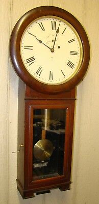 Mahogany Seth Thomas #2 Regulator Wall Clock