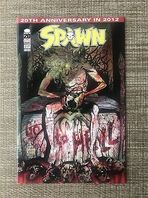 "SPAWN # 217 - Low Print ""The Freak"" Golden/McFarlane Cover, Image Comic Book"