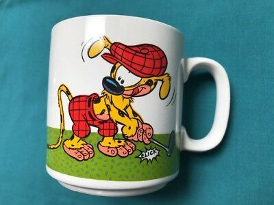 "Vtg Disney Applause Marsupilami Mug ""One Talented Golfer"" Coffee Cup New in Box"