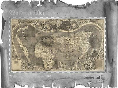 Cook 2018 $5 Waldseemüller – Historical Maps 30g Silver Proof Coin