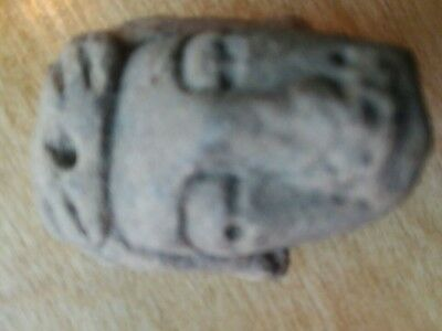 Estate Fresh from private collector ancient egyptian sculpted stone head