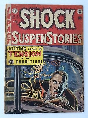 Shock Suspense Stories # 4  5.0 1951 RARE! EC Comics Horror Tales From The Crypt