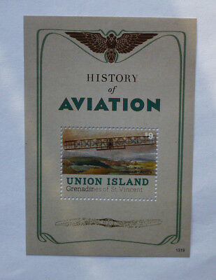 2013 St VINCENT & GRENADINES AVIATION UNION Is STAMP MINI SHEET