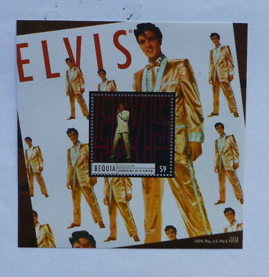 2013 St VINCENT & GRENADINES ELVIS BEQUIA STAMP MINI SHEET