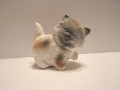 Collectible Calico Kitten Cat Figurine