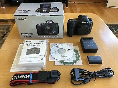 Canon EOS 5D Mark IV 30.4MP DSLR (Body Only) - EXTREMELY LOW SHUTTER COUNT!