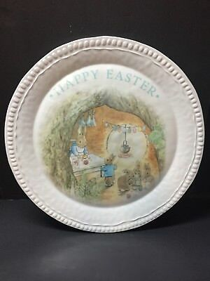 "Pottery Barn Kids EASTER Beatrix Potter 16"" PLATTER PLATE Peter Rabbit Dining NW"