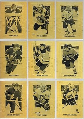 U PICK EM LOT 2018-19 18-19 Upper Deck UD Tim Hortons Gold Etchings card set