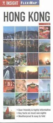 Insight Guides Flexi Map Hong Kong by Insight Guides 9781780058177