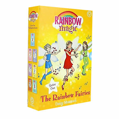 Daisy Meadows Rainbow Magic Colour Fairies Collection 7 Books Set Series 1 to 7
