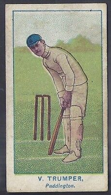 Wills-Australian Club Cricket (Green Back)- Trumper - Paddington