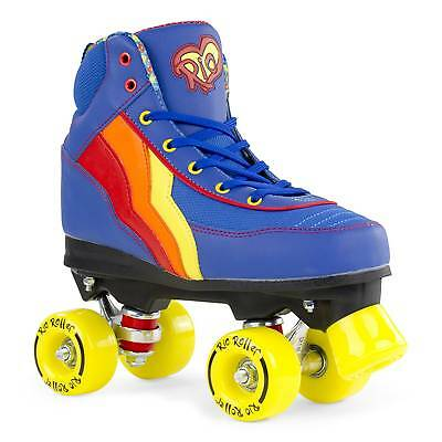 Rio Roller Classic II Quad Roller Skates - Blueberry Was £50