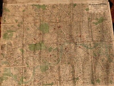 Antique Map City of London