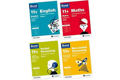 Bond 11+ English Maths Verbal Non-verbal Reasoning 10-11 Years Assessment Paper