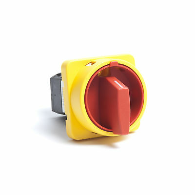 0PT6206 Two Pole (2 Pole) Isolator Switch for Mains Isolation 63A