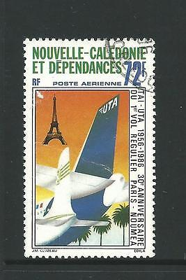 1986 30th Anniversary  1st scheduled flight Paris - Noumea  used