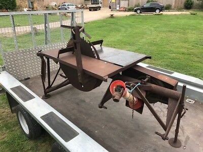 McConnel Tractor Saw Bench