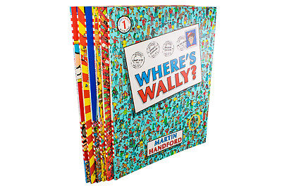 Where's Wally? Wow 6 Book Collection