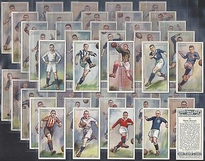 Players-Full Set- Football Ers 1928 (50 Cards) - Exc