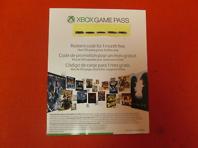 Xbox Live 1 Month Gold Membership And Game Pass 1 Month Digital Codes 9887