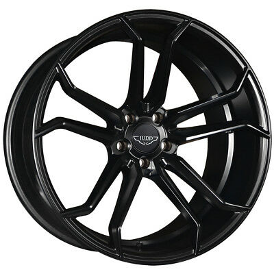 20 Inch Judd T502 5x112 Et28 To 45 11j Black Alloy Wheels Audi A5