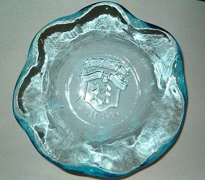 Vintage Brach's CRESTMARK Candy Dish 75th Anniversary LIMITED EDITION #3180