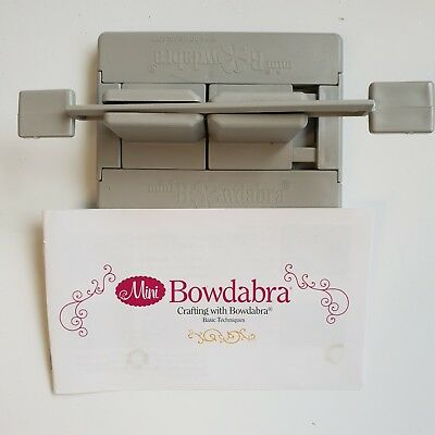 Bowdabra Bow Maker with instructions - used,not in original packaging