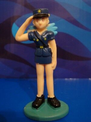 Pokemon Figur 7cm Trainer OFFICER ROCKY - OFFICER JENNY / 1. Generation TOMY TOP