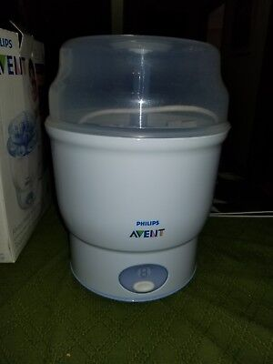 Philips AVENT iQ 24 Electric Baby Bottle Steam Sterilizer BPA Free.