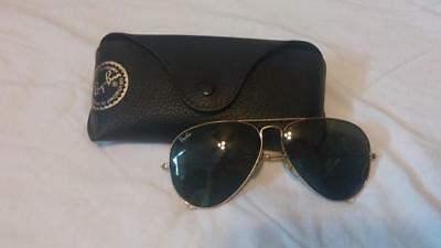 Ray-Ban Black B & L Vintage Sunglasses