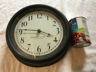 Antique Stromberg Electric Slave Wall Clock