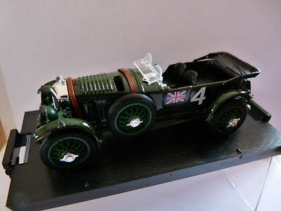 voiture 1/43 BRUMM 24 heures du Mans : BENTLEY Speed six winner 1 st 1930