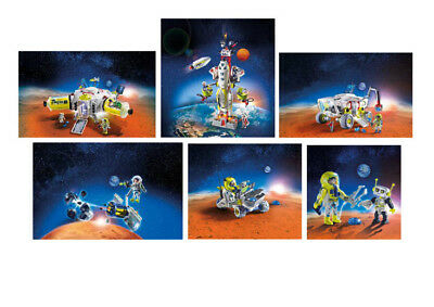 PLAYMOBIL® Auswahl: Mars-Mission 9487-9488-9489-9490-9491-9492 Space